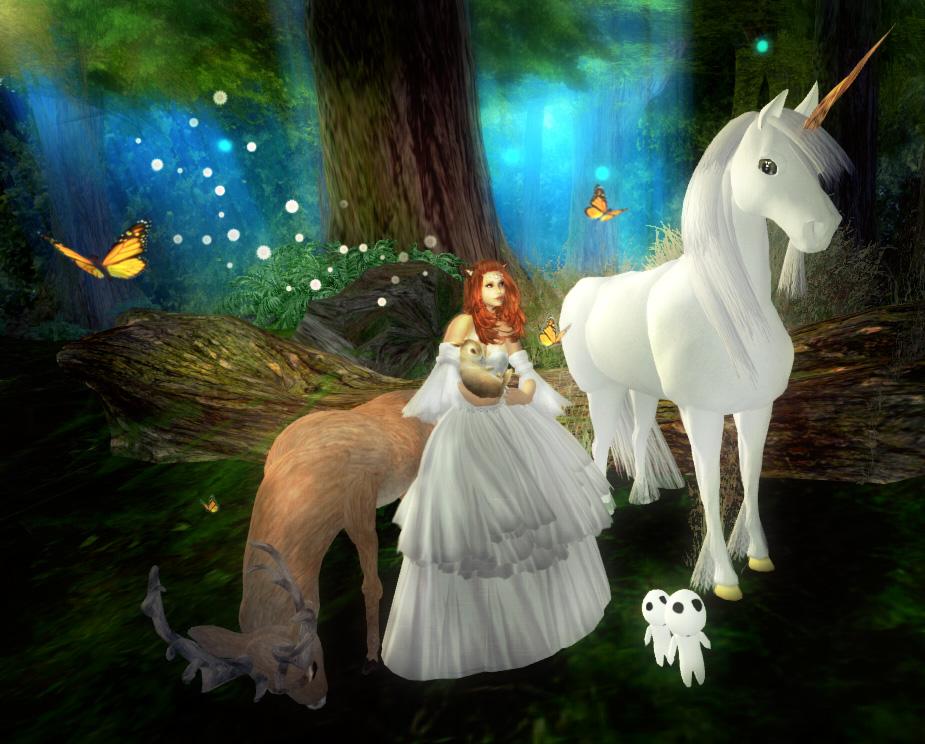 Princess Of Chakryn Forest Virtual Neko In Second Life
