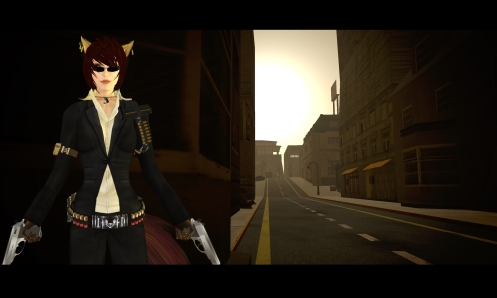 James Bond Neko Secondlife guns Vesper Lynd