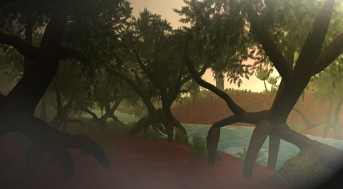 Grendels Second Life river