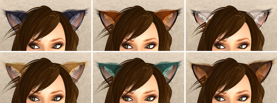 how to change fur on premade cat sims 3