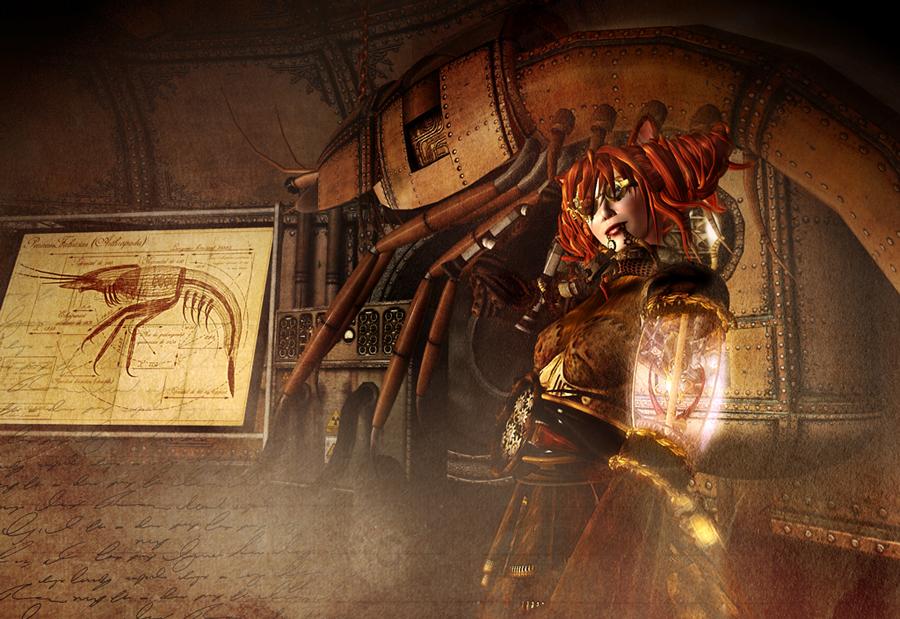 A steampunk shepherd for nikola tesla virtual neko in for Steampunk story ideas